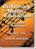 Dictionary of Music Education: