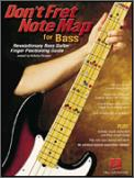 Don't Fret Note Map For Bass