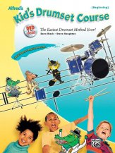 Kid's Drumset Course Bk/Dvd