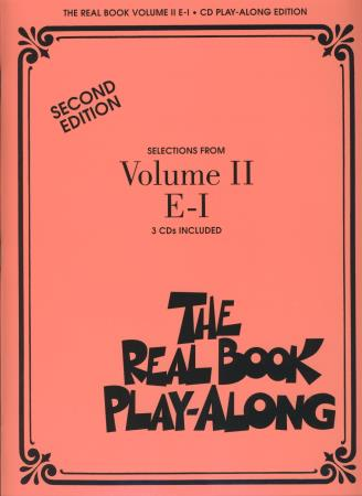 Real Book Play Along Vol 2 E-I (3 Cds)