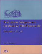 Percussion Assignments/Band/Wind Ens V2
