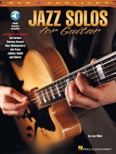 Jazz Solos For Guitar (Bk/Cd)
