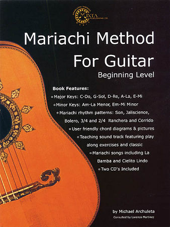 Mariachi Method For Guitar Beginning (B