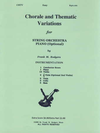 Chorale and Thematic Variations