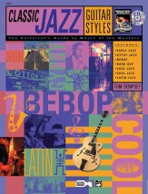Classic jazz guitar styles bk cd sheet music by tom for Classic jazz house