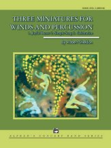 Three Miniatures for Winds and Percussion: Oboe