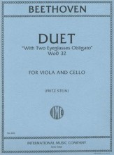 Duet With Two Eyeglasses Obligato Va/Vc