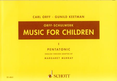Music For Children Vol 1 Pentatonic