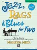 Jazz Rags & Blues For Two Bk 3