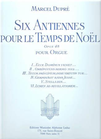 SIX ANTIENNES POUR LE TEMPS DE NOEL OP48