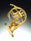 Magnet: Gold French Horn