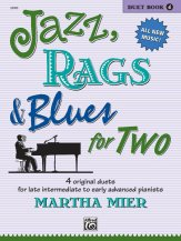 Jazz Rags & Blues For Two Bk 4