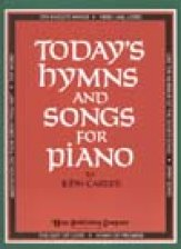 Today's Hymns and Songs For Piano