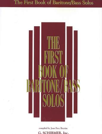 First Book of Baritone/Bass Solos, The