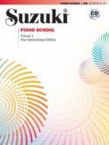 Suzuki Piano School Bk/CD Vol 1