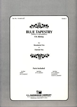 Blue Tapestry Sheet Music by F H Mckay (SKU: 110-0072-08