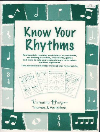 KNOW YOUR RHYTHMS (BK/CD)