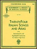 24 Italian Songs And Arias (Bk/Cd)