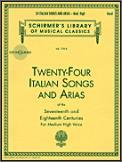 24 Italian Songs and Arias (Bk/Cd)