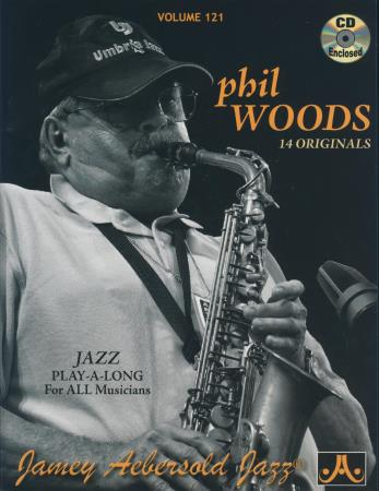 Phil Woods Vol 121 (Bk/Cd)
