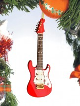 Ornament: Electric Guitar/Red