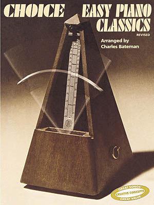 Choice easy piano classics sheet music by charles bateman for Piano house classics