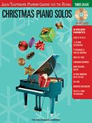 Christmas Piano Solos Third Grade (Bk/CD