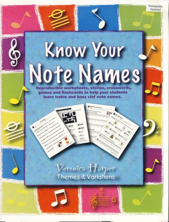 Know Your Note Names (Bk/CD/Powerpoints)
