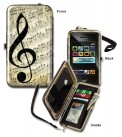 Wristlet: Music G Clef (H-6 1/8') New