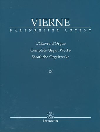 Complete Organ Works IX