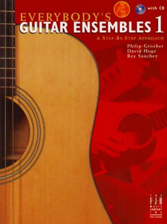Everybody's Guitar Ensembles 1 (Bk/Cd)