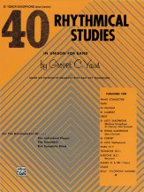 40 Rhythmical Studies (T Sax/Bass Clar)