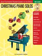 Christmas Piano Solos First Grade Bk/CD