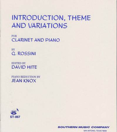 Introduction Theme and Variations