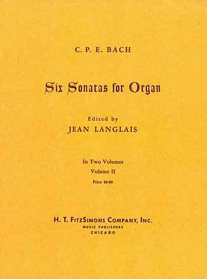 6 Sonatas For Organ Vol II