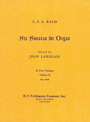 6 SONATAS FOR ORGAN VOL II