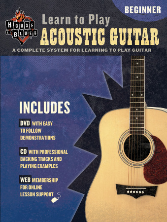 Learn To Play Acoustic Guitar (Bk/CD/Dvd