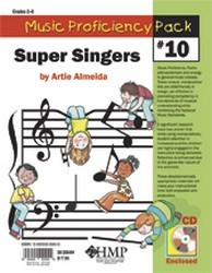 MUSIC PROFICIENCY PACK #10 (SUPER SINGER