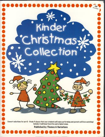 Kinder Christmas Collection (Bk/Cd)