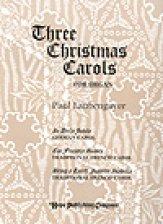 THREE CHRISTMAS CAROLS FOR ORGAN