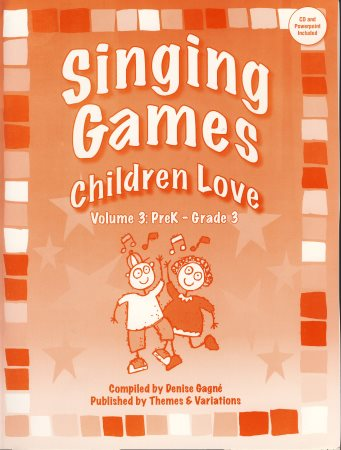 Singing Games Children Love Vol 3 (Bk/CD