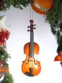 Ornament: Violin