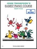 Easiest Piano Course Part 5 (Bk/Cd)