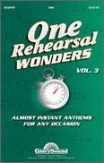 One Rehearsal Wonders Vol 3
