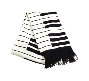 Winter Scarf: Keyboard Super Deluxe