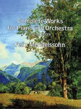 Complete Works For Piano And Orch-Score-