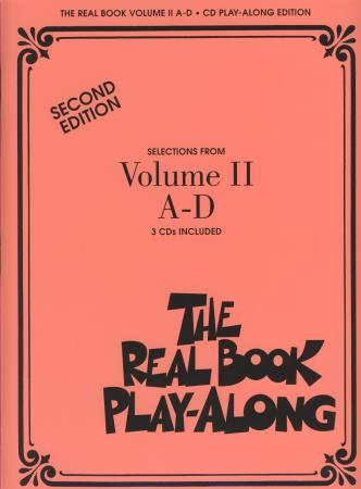 Real Book Play Along Vol 2 A-D (3 Cds)