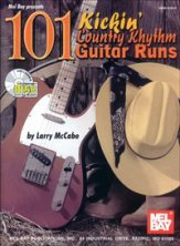 101 Kickin' Country Rhythm Guitar Runs