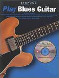 Step One: Play Blues Guitar (Bk/Cd)