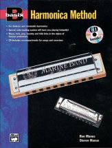 Basix Harmonica Method (Bk/Cd)
